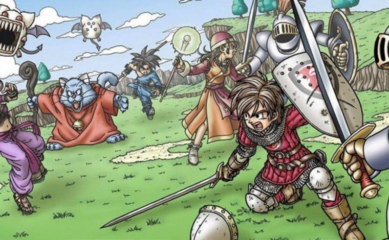 Dragon Quest IX : Les Sentinelles du Firmament - Bandeau