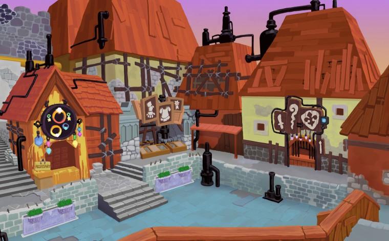 Kingdom Hearts II - Illustration décor
