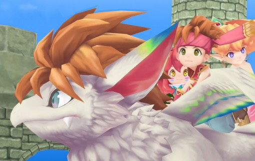 Secret of Mana : images du remake 3D sur PS4, Vita et PC