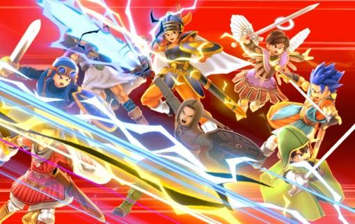 Le Héros de Dragon Quest dans Super Smash Bros. Ultimate
