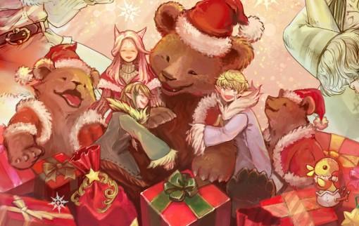 Bonne année 2018 — Fanart Final Fantasy XIV