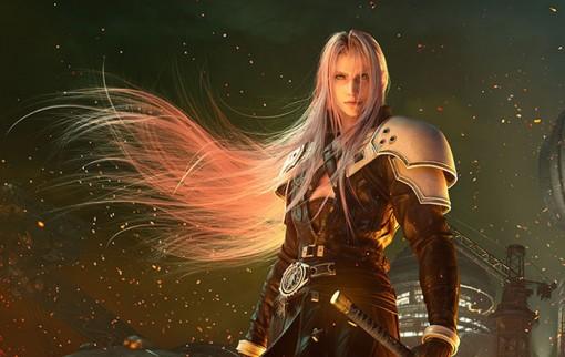 Final Fantasy VII Remake Artwork E3