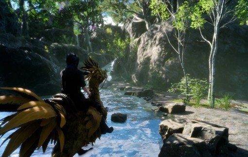 Final Fantasy XV sur PS4 Pro