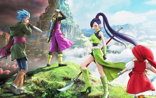 Illustration occidentale pour Dragon Quest XI