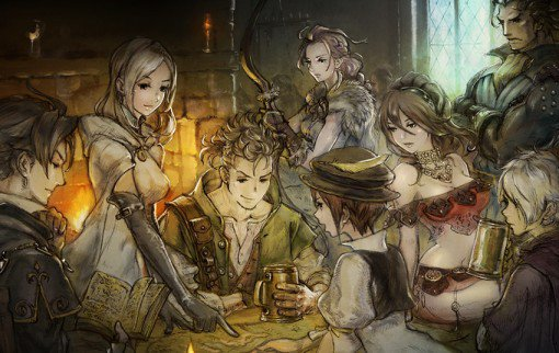 Project Octopath Traveler annoncé sur Nintendo Switch.
