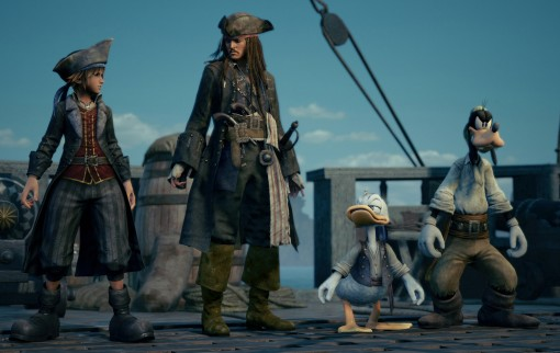 Kingdom Hearts III - Pirates des Caraïbes (E3 2018)
