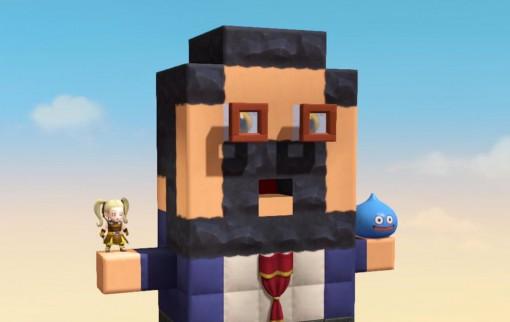 Kazuya Niinou représenté dans Dragon Quest Builders
