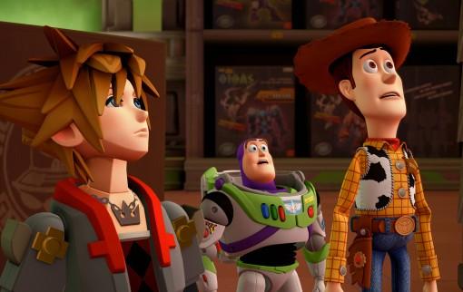 Kingdom Hearts III : le monde de Toy Story