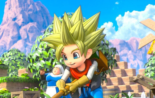 Dragon Quest Builders 2 - Artwork