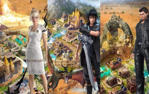 Final Fantasy XV: A New Empire, un free to play sur iOS et Android