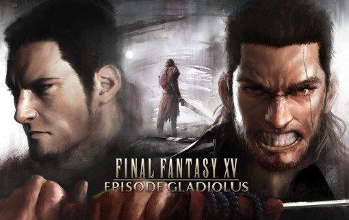 Final Fantasy XV Episode Gladiolus KeyArt