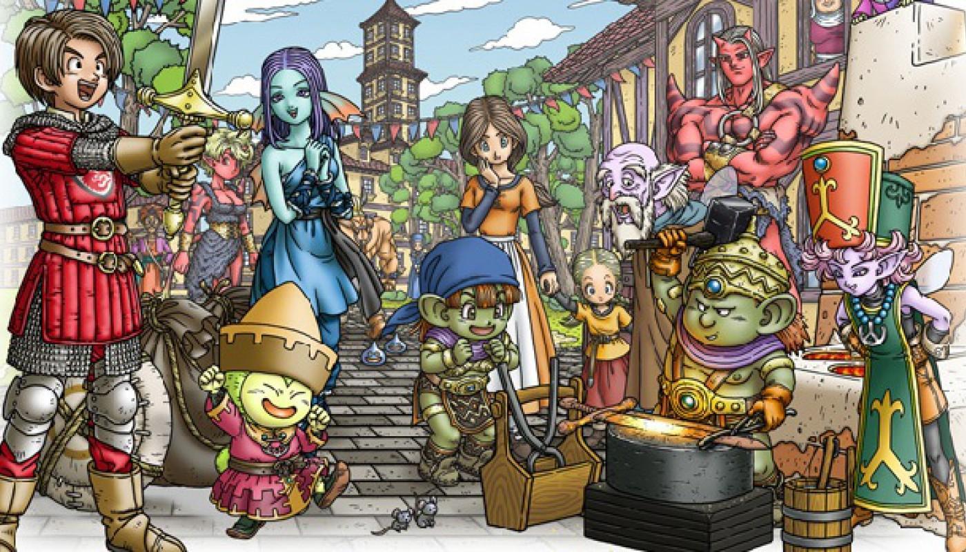Dragon Quest X - Bandeau