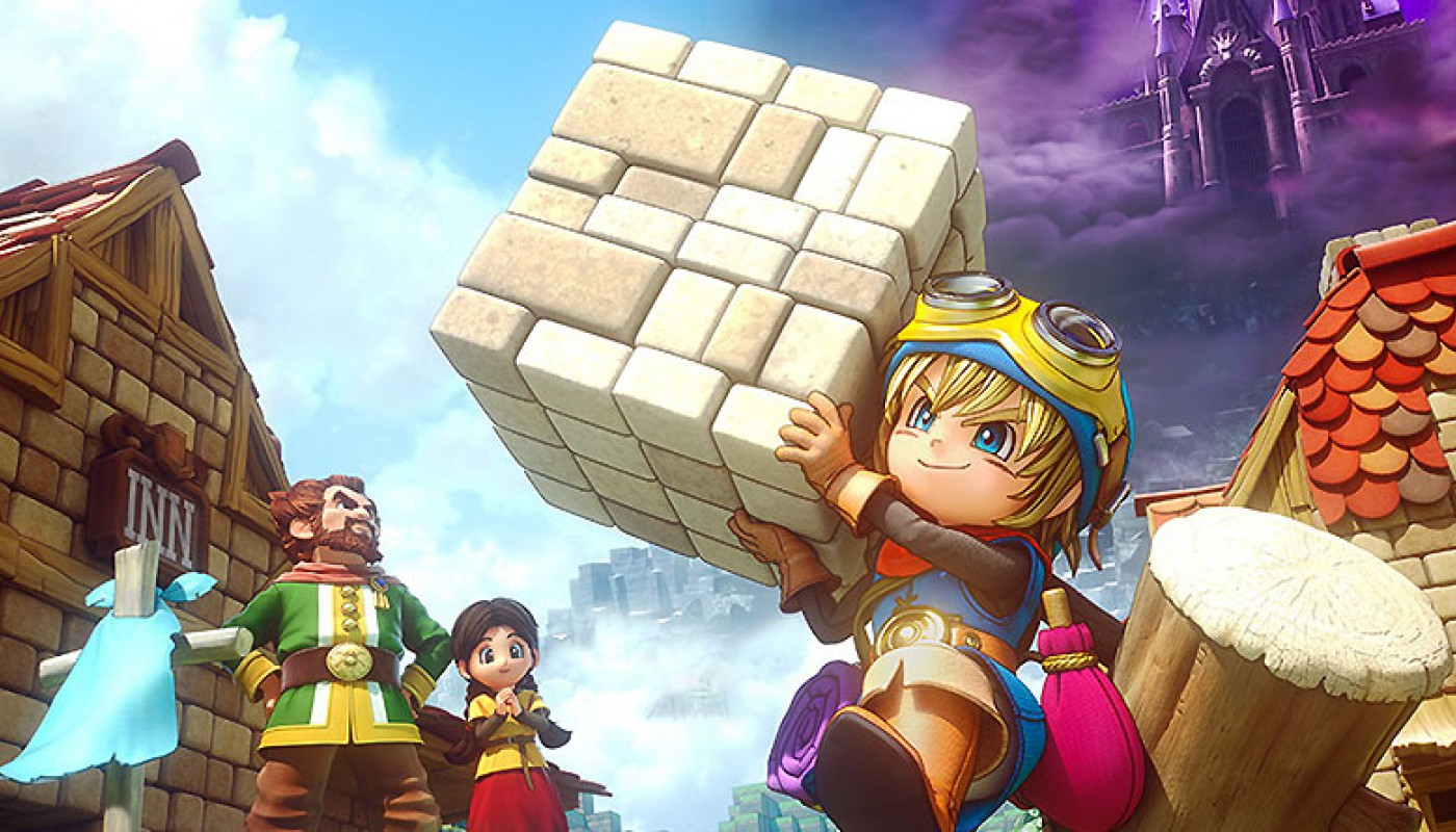 Dragon Quest Builders - Bandeau