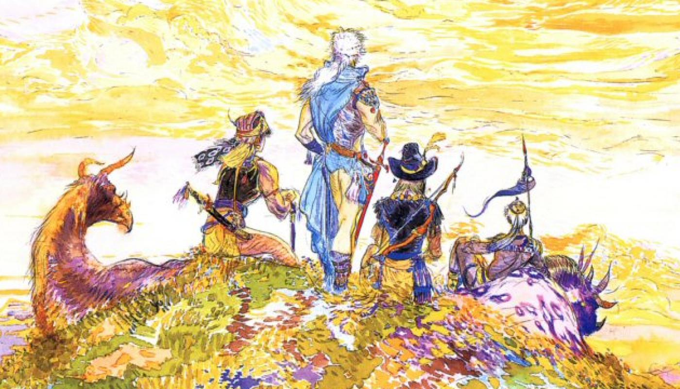 Final Fantasy III - Bandeau