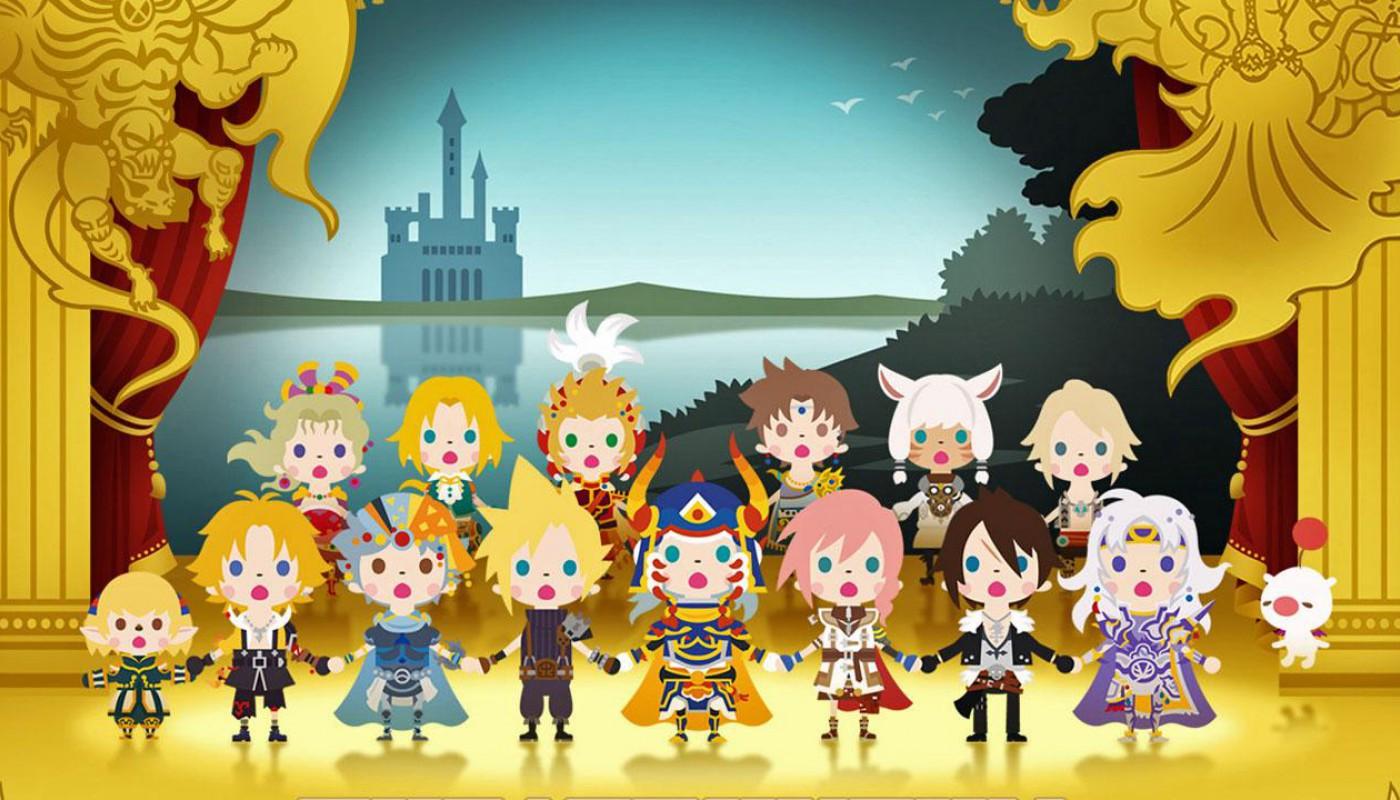 Theatrhythm Final Fantasy Curtain Call - Bandeau