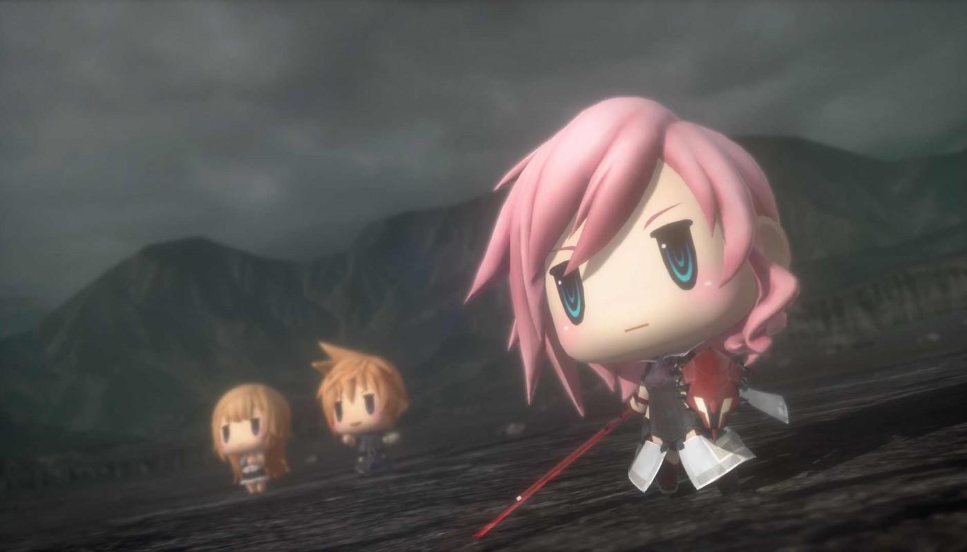 World of Final Fantasy - Bandeau