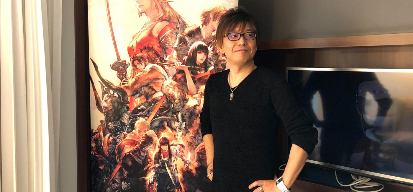 Interview de Naoki Yoshida, réalisateur de Final Fantasy XIV, à Paris Games Week