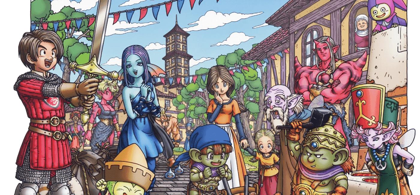 Artwork de Dragon Quest X