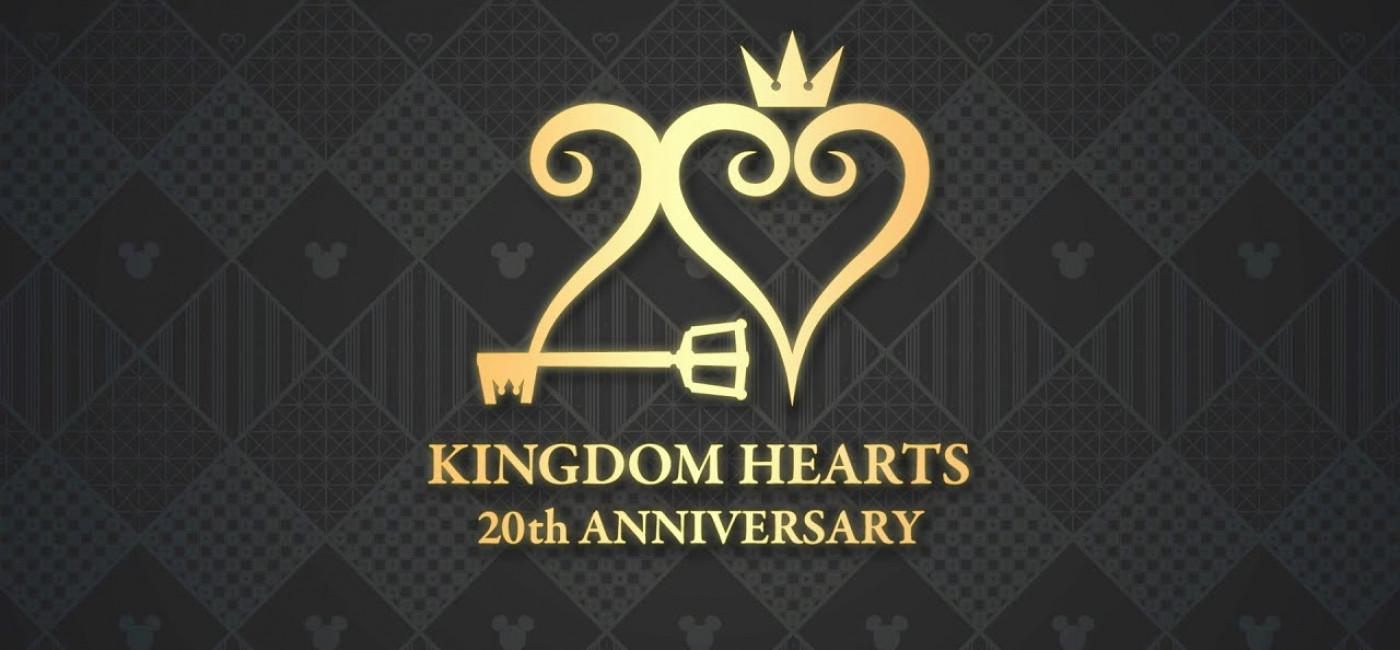 Kingdom Hearts 20th Anniversary — Logo