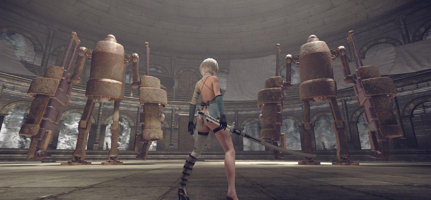 Le premier DLC de NieR: Automata