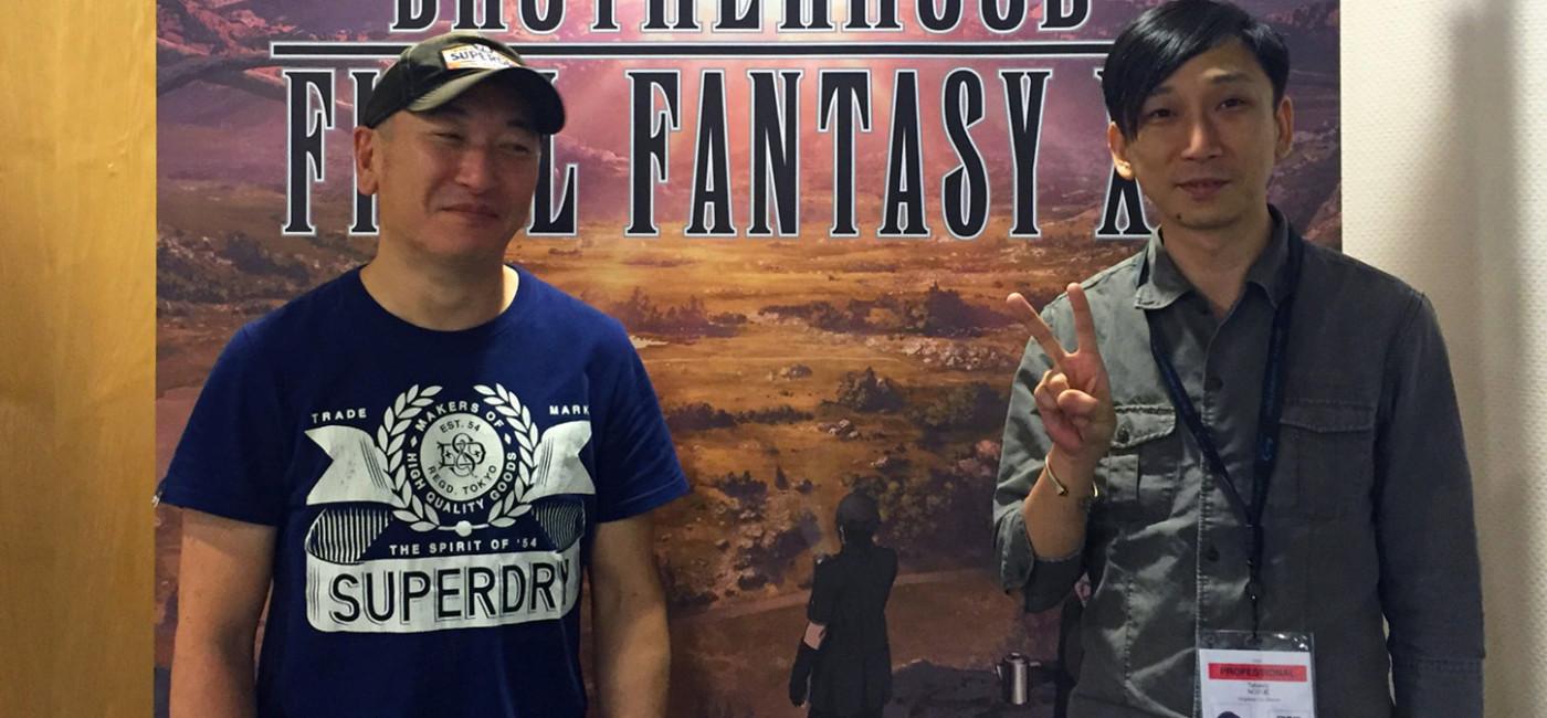 Interview - Final Fantasy XV (Japan Expo 2016)