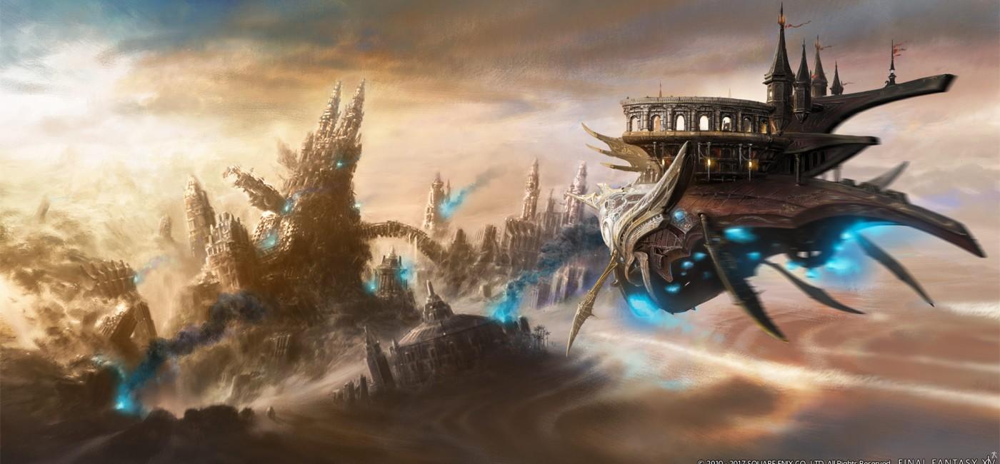 Illustration de Final Fantasy XIV 4.1