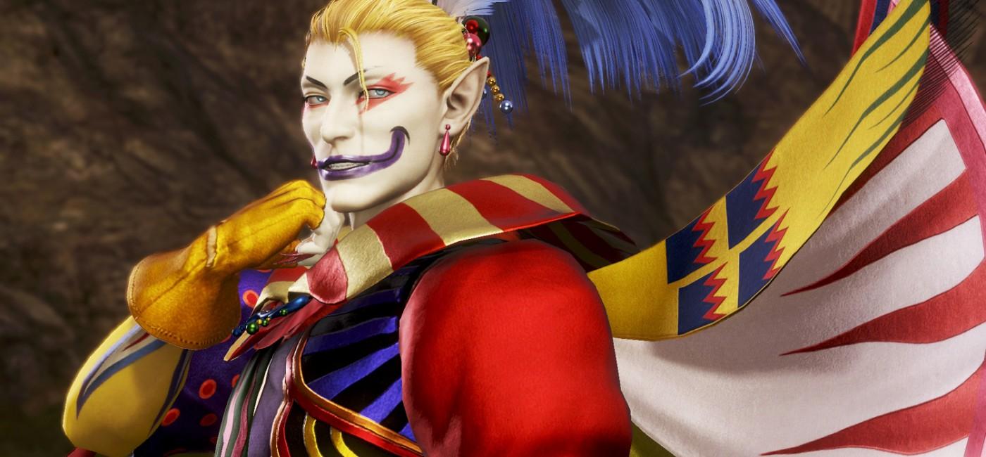 Dissidia Final Fantasy — Kefka de FFVI