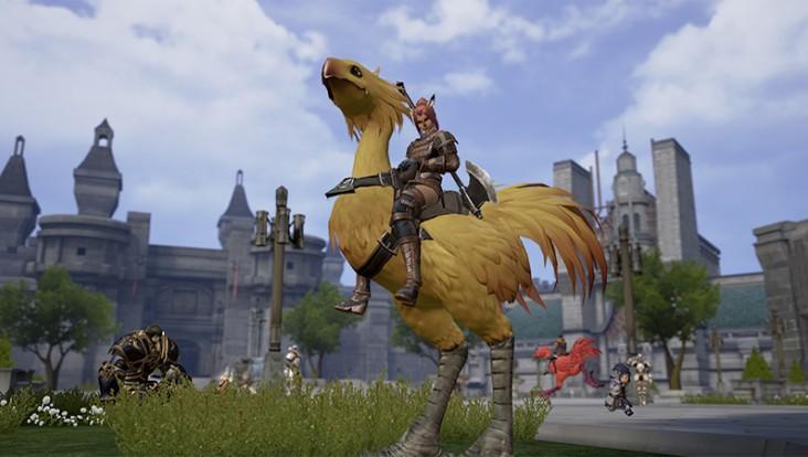 Nouvelles images de Final Fantasy XI sur smartphone (3)