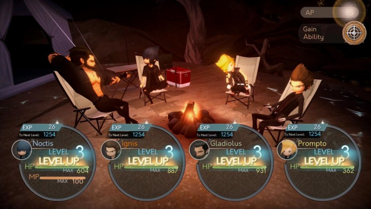 Screenshot de Final Fantasy XV: Pocket Edition (iOS, Android, Windows 10)