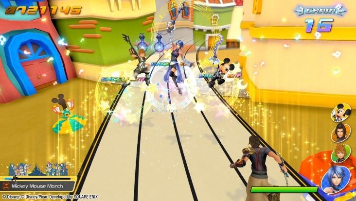 Test de Kingdom Hearts Melody of Memory
