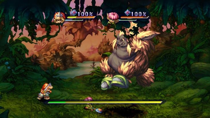 Legend of Mana — Combat de boss
