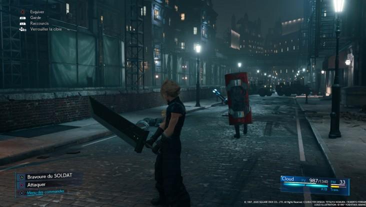 Soluce de Final Fantasy VII Remake - Chapitre 2