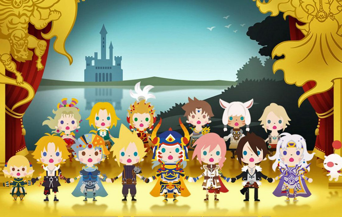 Theatrhythm Final Fantasy Curtain Call - Bandeau