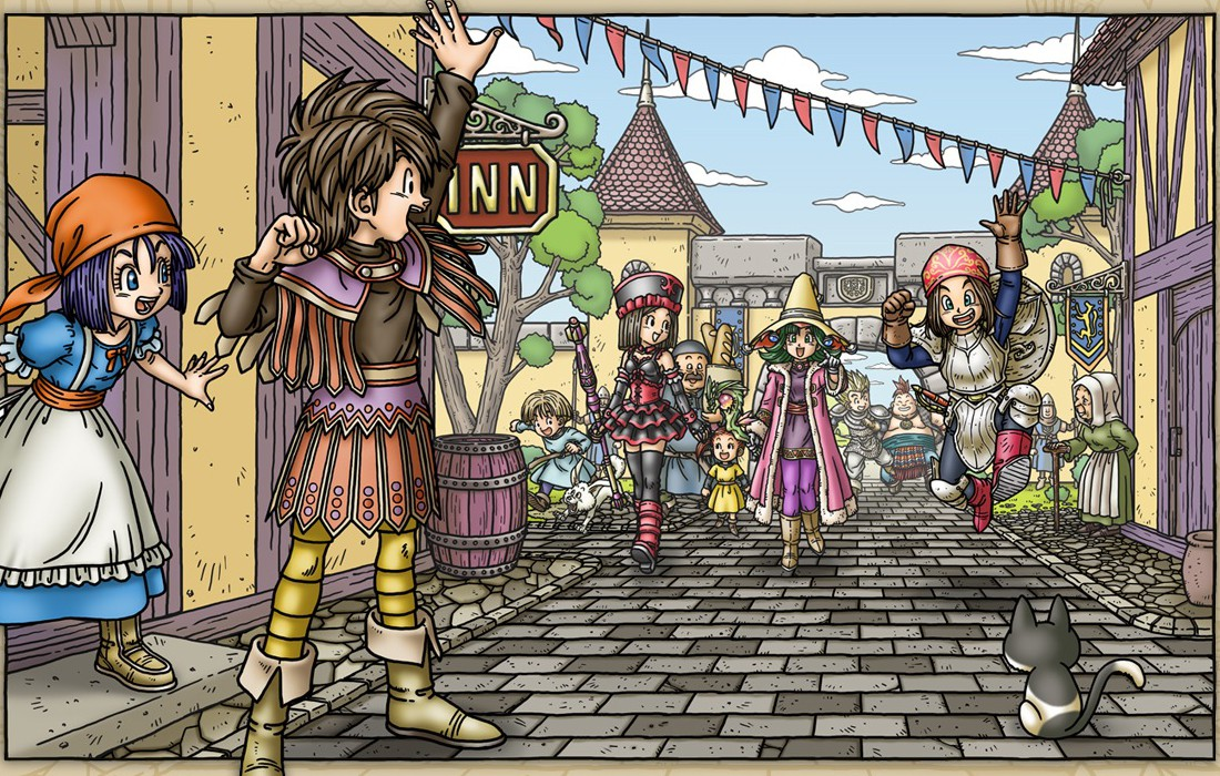 Dragon Quest IX - Preview