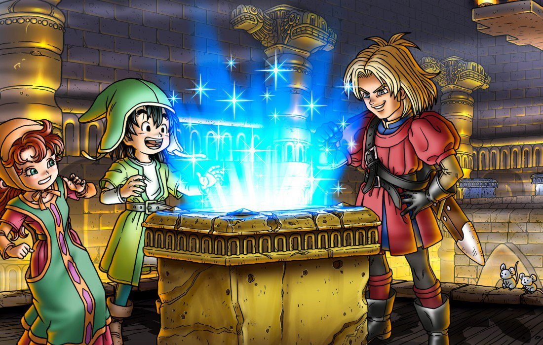 Dragon Quest VII (Nintendo 3DS)
