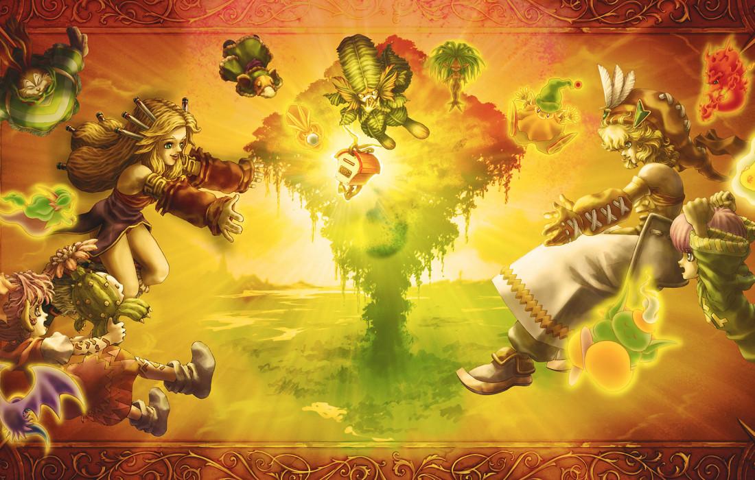 Legend of Mana - Artwork